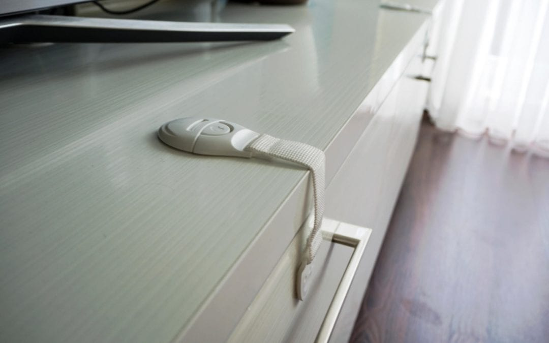 Cabinet and drawer locks are great to babyproof your home